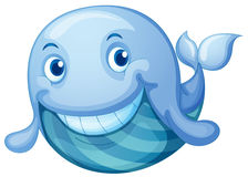 蓝色鱼 向量例证