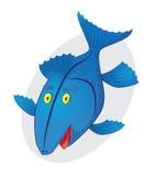 蓝色鱼 库存照片