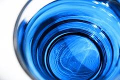蓝色鸡尾酒 免版税库存图片