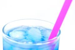 蓝色鸡尾酒 库存图片