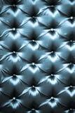 蓝色黑暗的丝绸时髦的室内装潢 库存图片