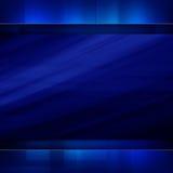 蓝色黑暗的抽象背景 库存图片