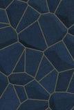 蓝色黑暗的石纹理 免版税库存图片