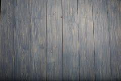 蓝色黑暗的硬木纹理和木头五谷背景 免版税库存照片