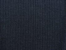 蓝色黑暗的纹理 被编织的织品 免版税库存图片