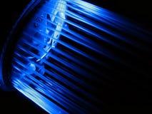 蓝色黑暗的阵雨 免版税库存照片