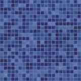 蓝色黑暗的马赛克紫色 库存例证