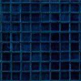 蓝色黑暗的马赛克 库存图片