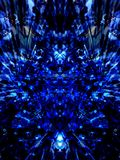蓝色黑暗 图库摄影