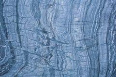 蓝色,白色和黑大理石墙壁的样式和表面 库存照片