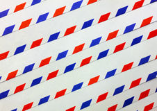 蓝色,红色,空白线路背景 免版税库存图片