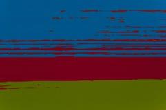 蓝色,红色,绿色 免版税图库摄影