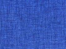 蓝色织品牛仔裤 图库摄影