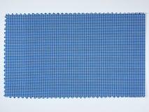 蓝色织品范例 库存照片