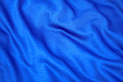 蓝色织品 免版税库存照片