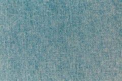 蓝色织地不很细牛仔布,牛仔裤backgr特写镜头视图  免版税库存照片