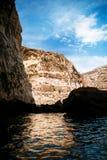 蓝色洞穴地区 库存图片