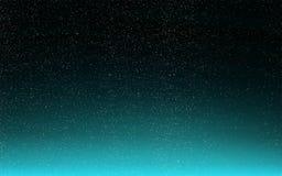 蓝色满天星斗的天空艺术背景 免版税库存图片