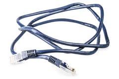 蓝色绳子 库存图片