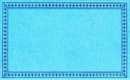 蓝色水平的背景 免版税库存照片