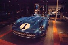 蓝色1956年薛佛列轻武装快舰超级体育SS 免版税图库摄影