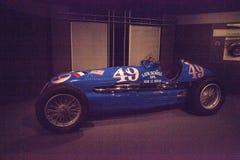 蓝色1938年Maserati 8CTF 免版税库存图片