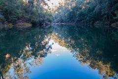 蓝色水池 图库摄影
