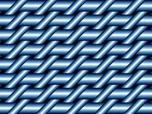 蓝色织法 库存照片