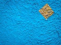 蓝色水泥纹理 免版税库存照片