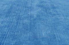 蓝色水泥边路 免版税库存图片