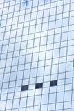 蓝色玻璃现代大厦摩天大楼 免版税库存照片