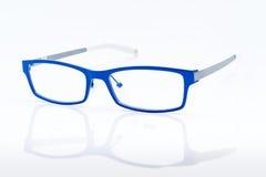 蓝色玻璃 免版税库存照片