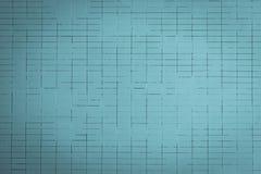 蓝色轻的墙壁 免版税图库摄影