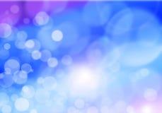 蓝色紫色和桃红色抽象背景,迷离 免版税库存图片