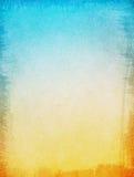 蓝色黄色纹理背景 免版税库存照片