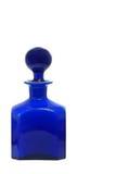 蓝色botlle 库存照片