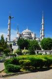 蓝色camii伊斯坦布尔清真寺 免版税库存照片