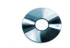 蓝色cd 库存图片