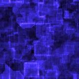蓝色cyper grunge sl 免版税库存图片
