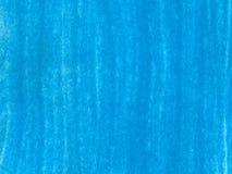 蓝色gouashe刷子冲程 库存图片