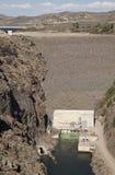 蓝色Mesa水坝 免版税图库摄影