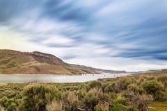 蓝色Mesa水库, CO,美国 免版税库存图片