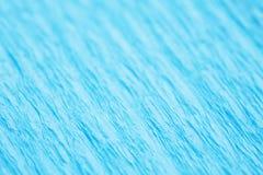 蓝色ribbled表面 库存照片