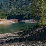 蓝色River湖在春天 库存照片