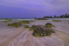 蓝色Sky4巴淡岛Bintan wonderfull印度尼西亚 库存图片