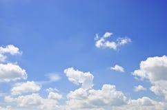 蓝色sky_001 免版税库存图片