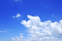 蓝色sky_002 库存图片