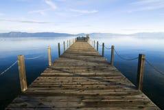 蓝色Tahoe湖 免版税图库摄影