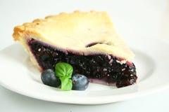 蓝草莓饼 库存照片
