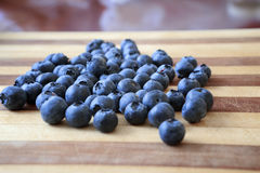 蓝莓健康快餐4 免版税库存图片